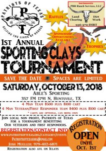 Skeet Shoot Sporting Clays Event